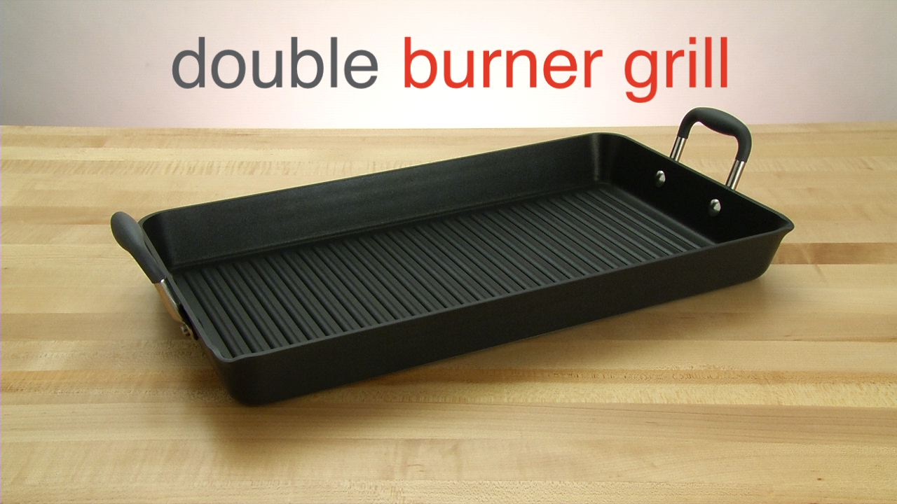 Double Burner Grill