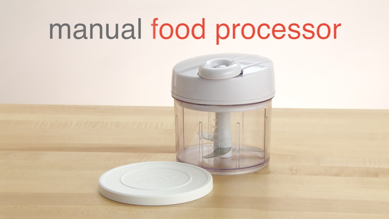 Manual Food Processor Product Recipe Videos Pampered Chef